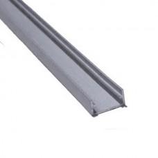 """9/16"""" Deep Flat Slim LED Aluminum Channel"""