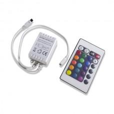 4 Key IR RGB Color Buttons Controller