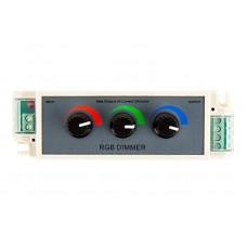 3 Color RGB  Knob Dimmer